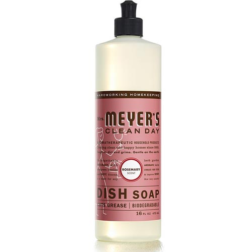 MRS. MEYERS CLEAN DAY DISH SOAP ROSEMARY 16oz