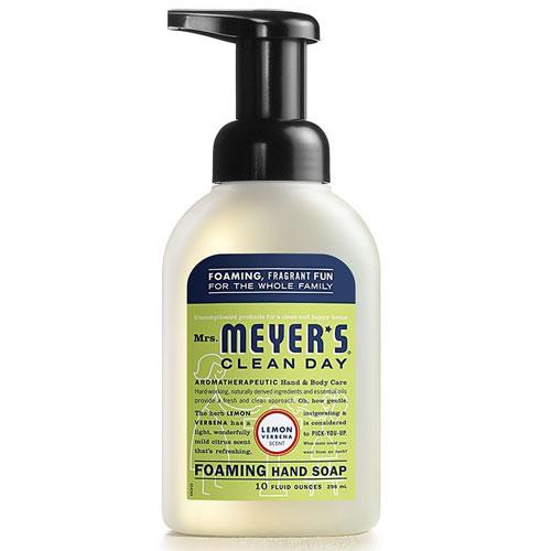 MRS MEYERS FOAM HAND SOAP LEMON 10oz
