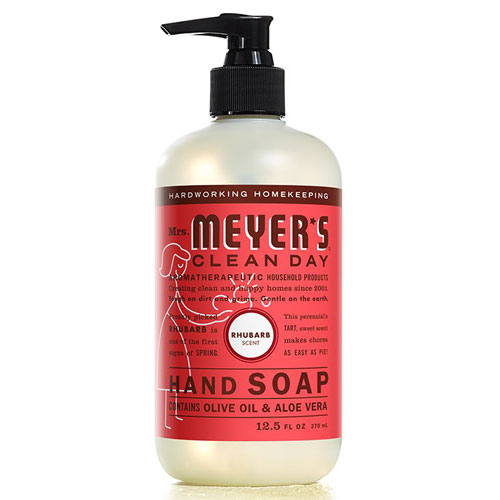 MRS MEYERS HAND SOAP RHUBARB 12.5oz