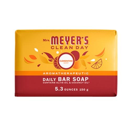 MRS MEYERS  SOAP BAR CLEMENTINE 5.3oz