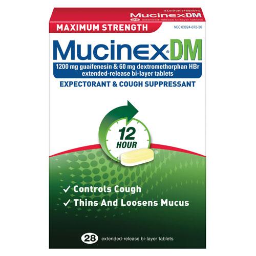 MUCINEX DM 12HR MAXIMUM STRENGTH 14PC