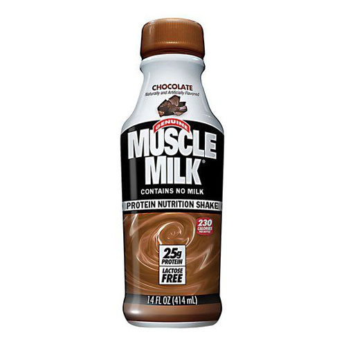 MUSCLE MILK ORIGINAL CHOCOLATE 17oz