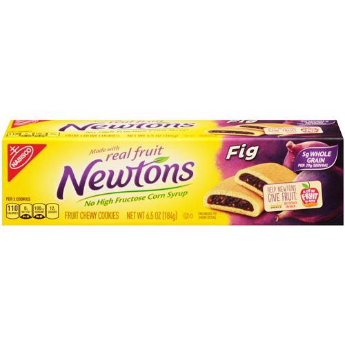 NABISCO NEWTON FIG FRUIT CHEWY COOKIES 6.5oz