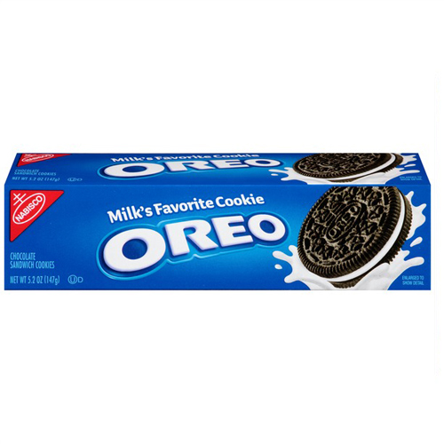 NABISCO OREO CHOCOLATE SANDWICH COOKIE 5.2oz