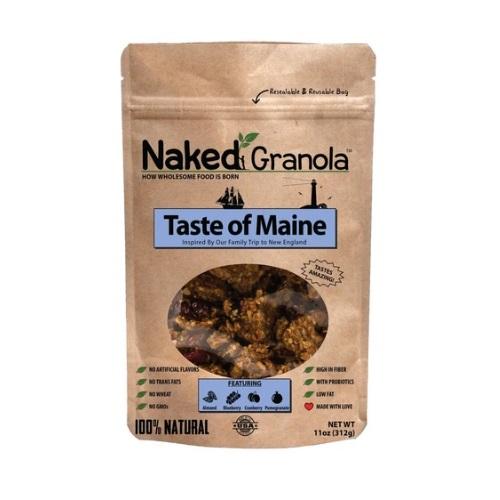 NAKED GRANOLA TASTE OF MAINE CRANBERRY COCONUT ALMONDS & BLUEBERRY 11oz
