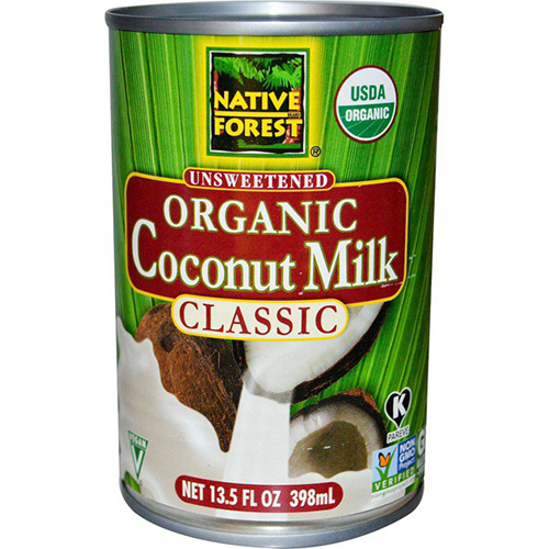 NATIVE FOREST ORGANIC COCONUT MILK UNSWEETENED 13.5oz