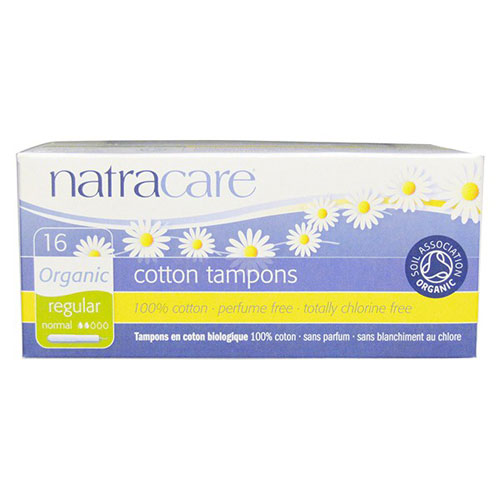 NATRACARE TAMPON REGULAR 16pk