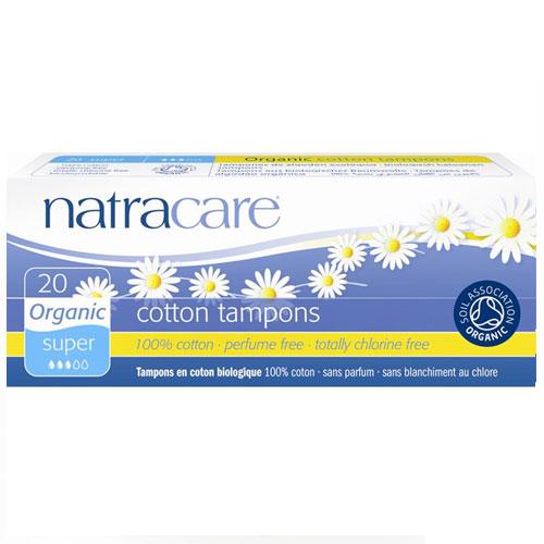 NATRACARE  TAMPON SUPER 20pk