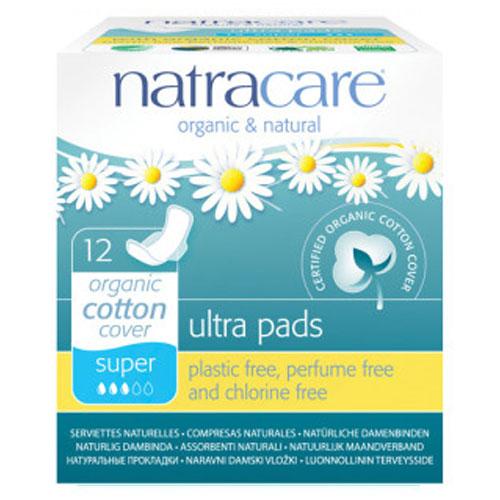 NATRACARE ULTRA PADS SUPER  12pk