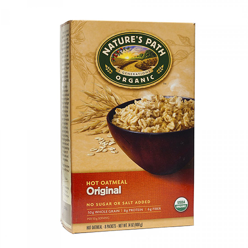 NATURE'S PATH ORGANIC OATMEAL ORIGINAL 14oz