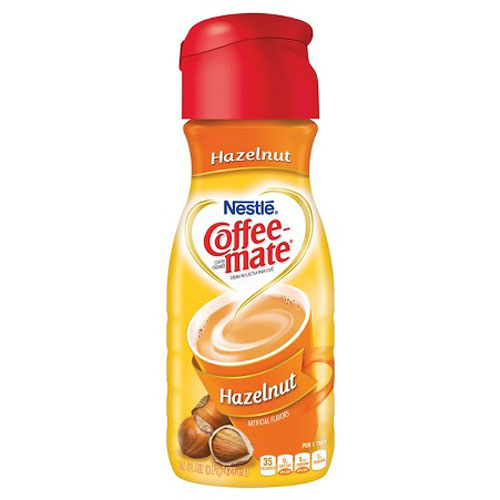 NESTLE COFFEE MATE HAZELNUT 16oz
