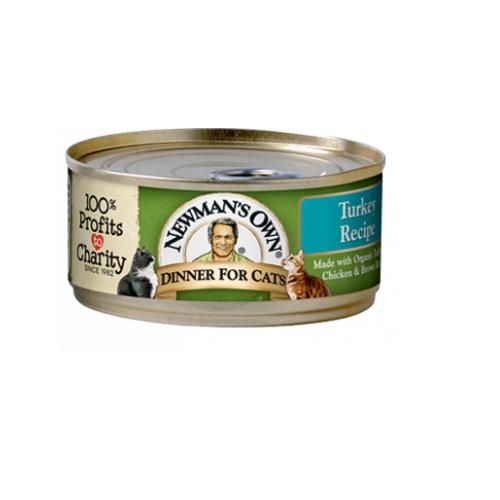 NEWMAN'S OWN CAT FOOD TURKEY FORMULA 5.5oz