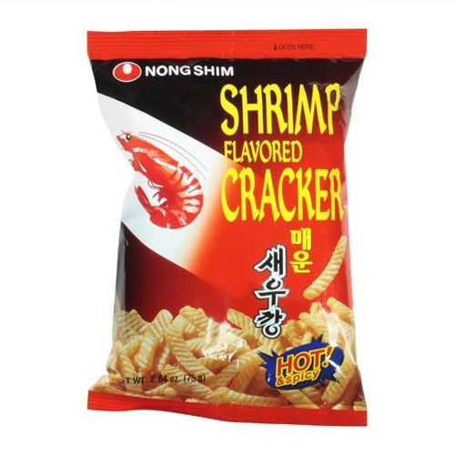 NONGSHIM SHRIMP CRACKER SPICY 2.6oz.