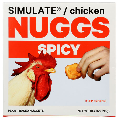 NUGGS PLANT BASED NUGGETS SPICY 10.4oz