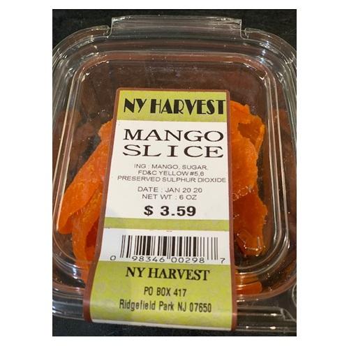 NY HARVEST MANGO SLICE 6oz