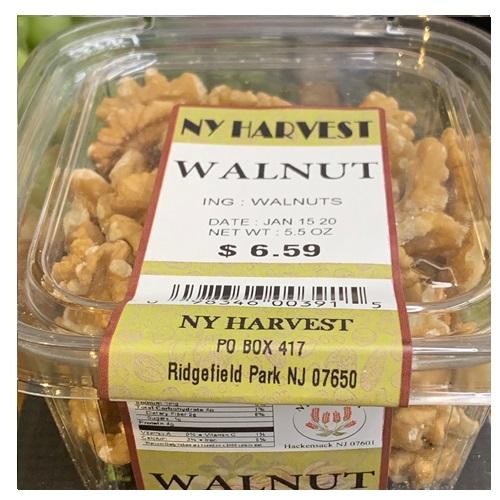 NY HARVEST WALNUTS 5.5oz