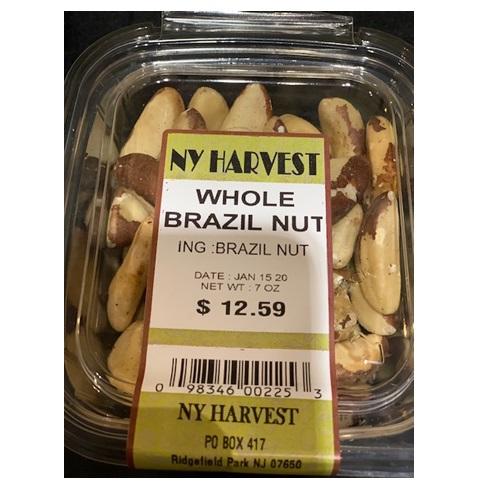 NY HARVEST WHOLE BRAZIL NUT 7oz