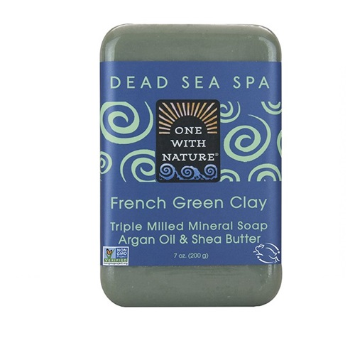 ONE WITH NATURE SOAP FRENCH GREEN CLAY 7oz
