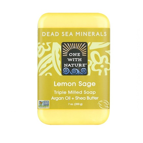 ONE WITH NATURE SOAP LEMON SAGE 7oz