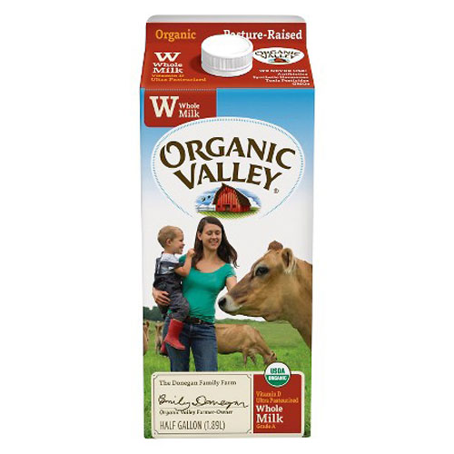 ORGANIC VALLEY MILK WHOLE 64oz