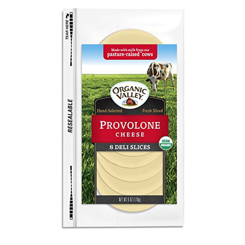ORGANIC VALLEY SLICES PROVOLON CHEESE 6oz.