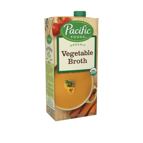 PACIFIC ORGANIC VEGETABLE BROTH 32oz