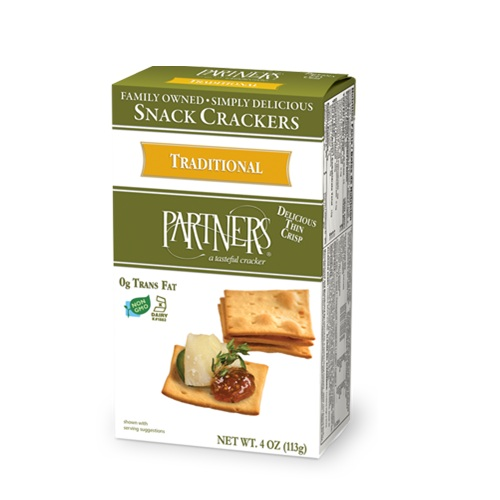 PARTNERS SNACK CRACKERS TRADITIONAL 4oz