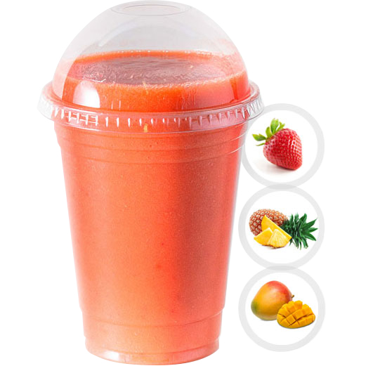 PASSION BLAST (STRAWBERRY, PINEAPPLE, MANGO) SELECT 16oz OR 20oz
