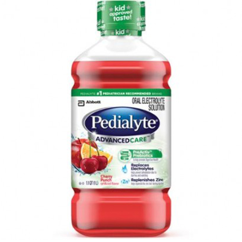 PEDIALYTE ORAL ELECTROLYTE SOLUTION CHERRY PUNCH 1lt.