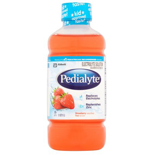 PEDIALYTE ORAL ELECTROLYTE SOLUTION STRAWBERRY 1lt.