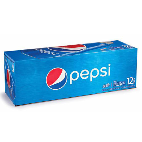 PEPSI CANS 12pk