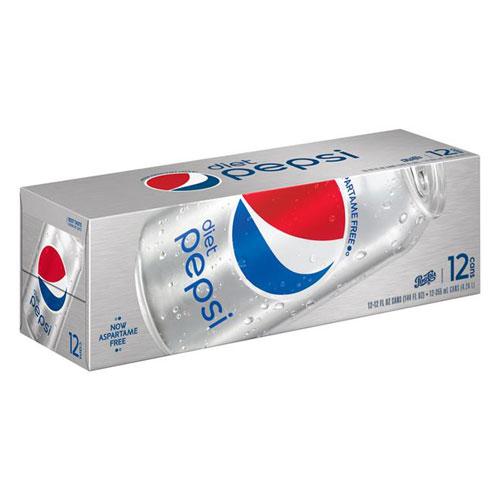 PEPSI DIET CANS 12pk