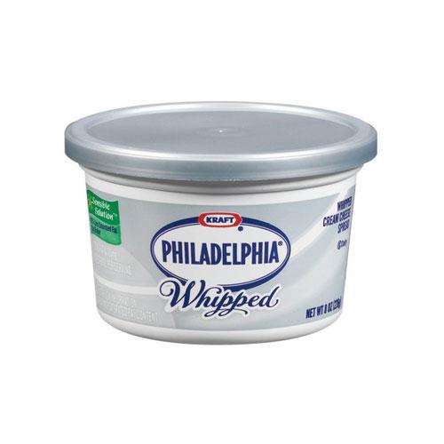 PHILADELPHIA CREAM CHEESE WHIPPED 8oz.