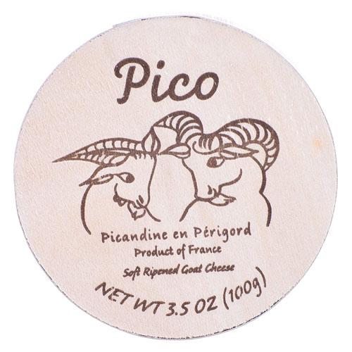 PICO PICANDINEN EN PERIGORD FRANCE GOAT CHEESE 3.5oz.
