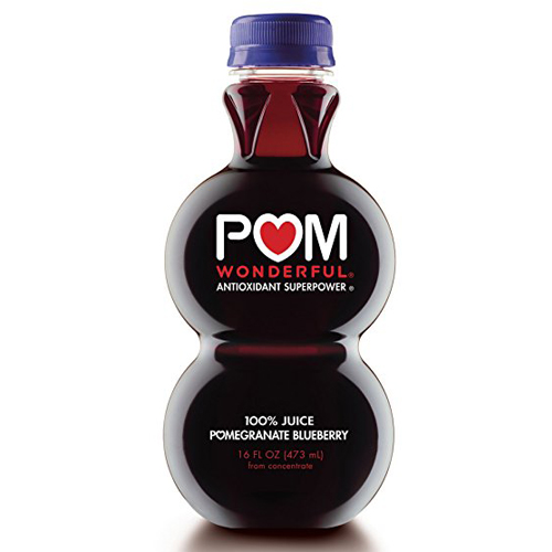 POM WONDERFUL 100% POMEGRANTE BLUEBERRY JUICE 16oz