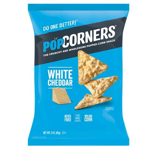 POPCORNER'S GLUTEN FREE SNACK WHITE CHEDDAR 5oz.