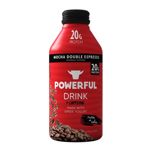 POWERFUL DRINK MOCHA DOUBLE ESPRESSO 12oz
