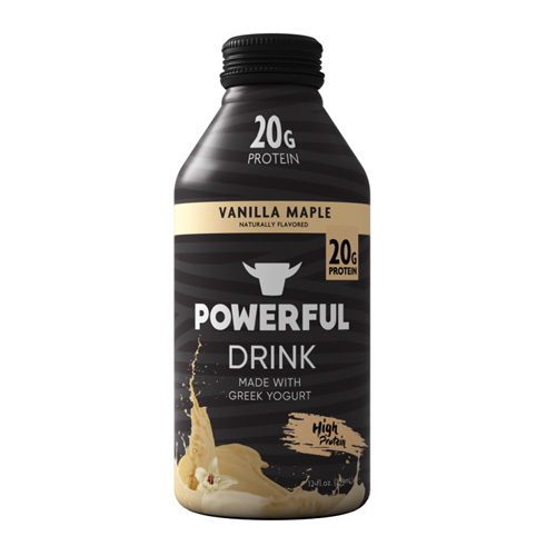 POWERFUL DRINK VANILLA MAPLE 12oz
