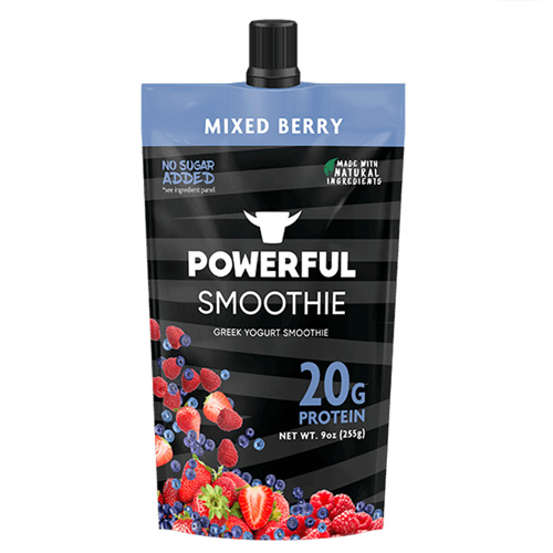 POWERFUL SMOOTHIE MIXED BERRY 9oz