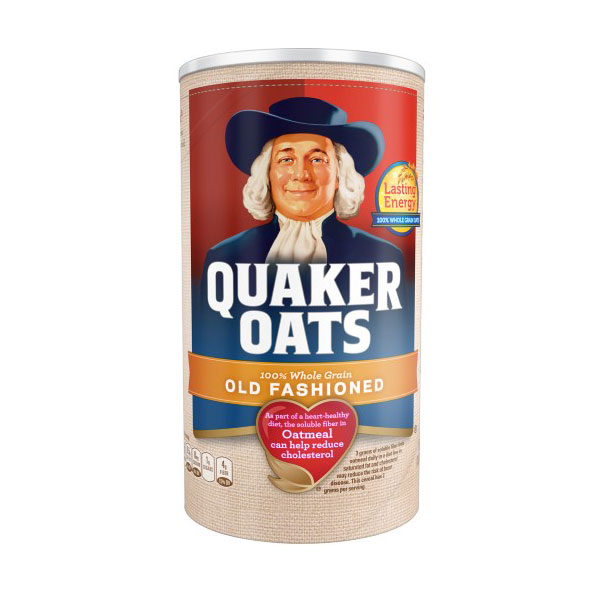 QUAKER OATS OLD FASHIONED OATMEAL 18oz