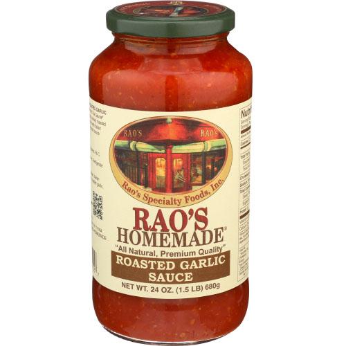 RAO'S HOMESTYLE ROASTED GARLIC SAUCE 24oz