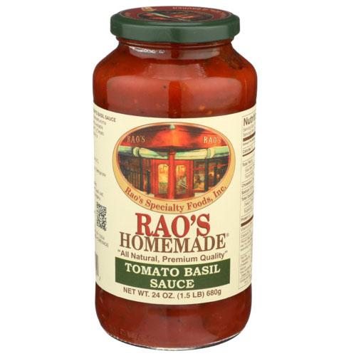 RAO'S HOMESTYLE TOMATO BASIL SAUCE 24oz