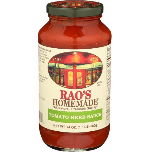 RAO'S HOMESTYLE TOMATO HERB SAUCE 24oz