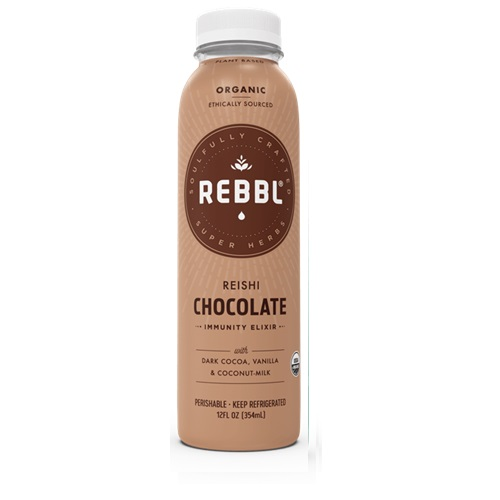 REBBL PLANT BASED EXILIR REISHI CHOCOLATE 12oz