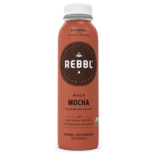 REBBL PLANT BASED EXILIR MACA MOCA NO COFFEE 12oz