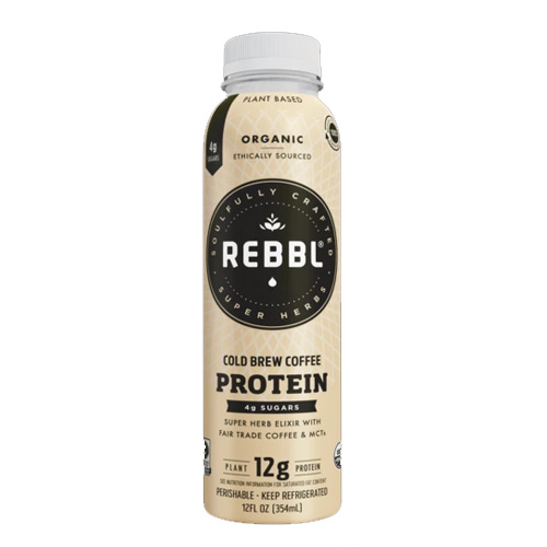 REBBL PLANT BASED PROTEIN COLD BREW COFFEE 12oz