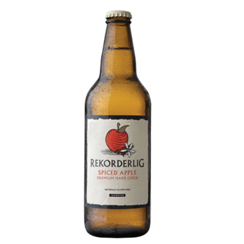 REKORDERLIG APPLE HARD CIDER SPICED 16.9oz