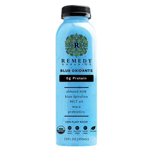 REMEDY ORGANICS 100% PLANT BASED BLUE OXIDANTS 12oz