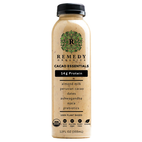 REMEDY ORGANICS 100% PLANT BASED DRINK 12oz
