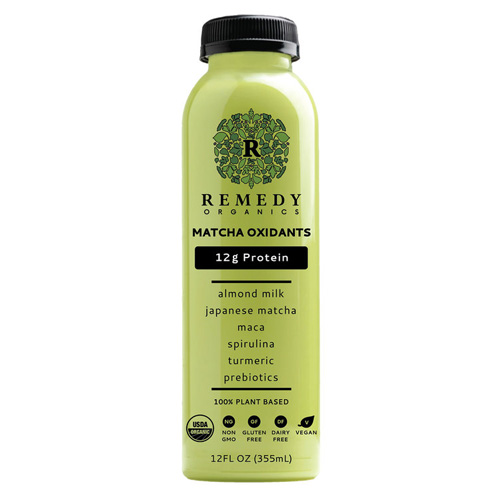 REMEDY ORGANICS 100% PLANT BASED MATCHA OXIDIANTS 12oz